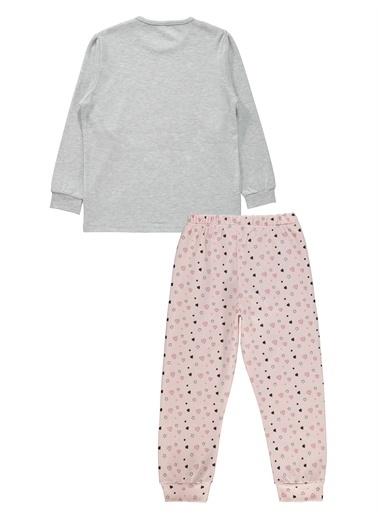 Civil Girls Civil Girls Kız Çocuk Pijama Takımı 6-9 Yaş Pembe Civil Girls Kız Çocuk Pijama Takımı 6-9 Yaş Pembe Gri
